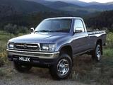 Toyota Hilux Single Cab AU-spec 1997–2001 wallpapers