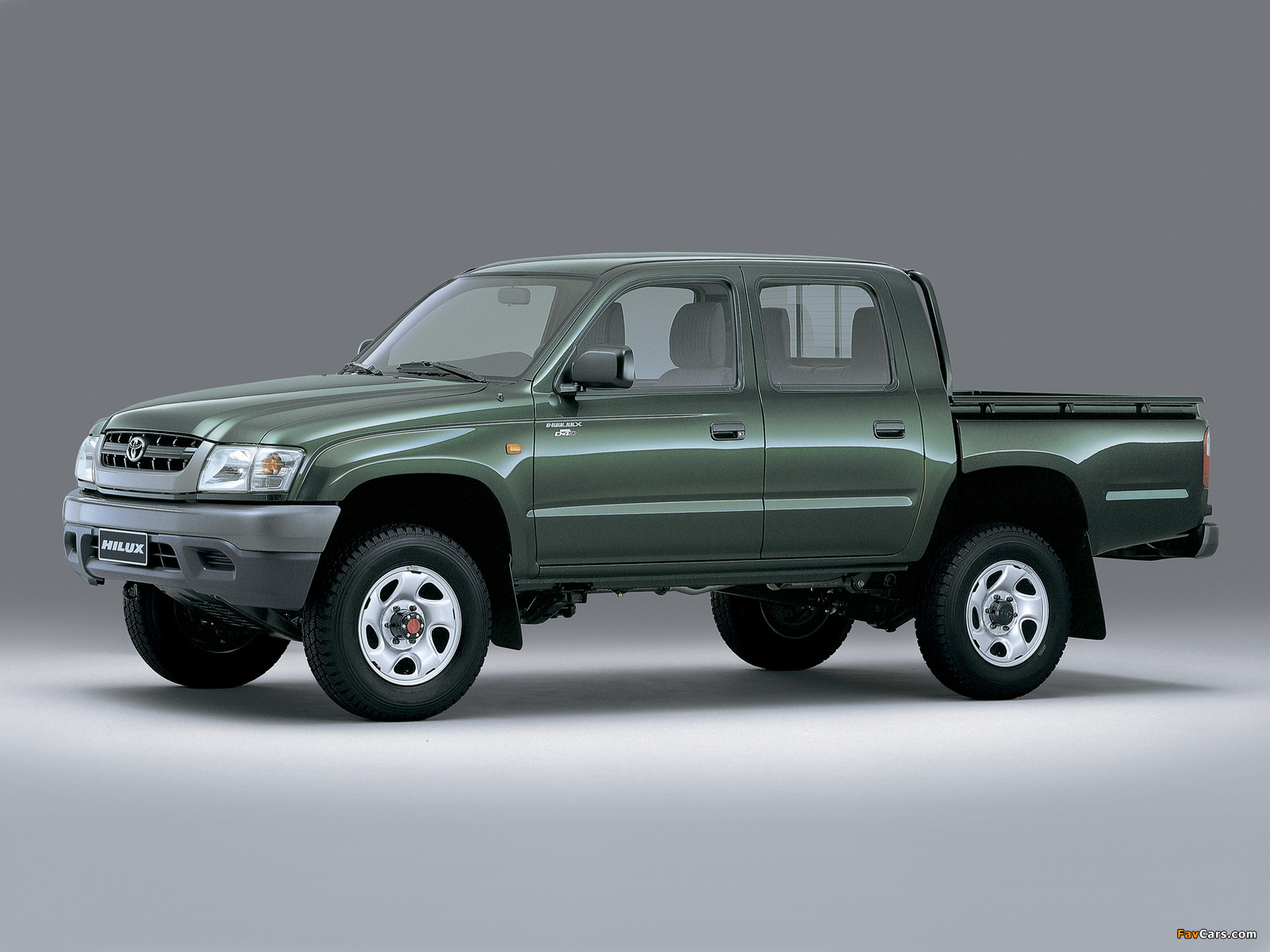 Toyota Hilux Double Cab 2001 05 Images 1600x1200