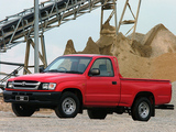 Toyota Hilux 2000 Single Cab ZA-spec 2001–05 wallpapers