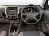 Toyota Hilux Xtra Cab AU-spec 2005–08 photos