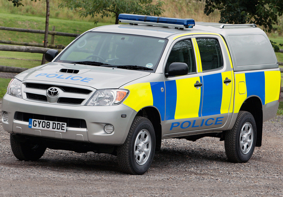 Toyota Hilux Double Cab Police 2005 08 Pictures