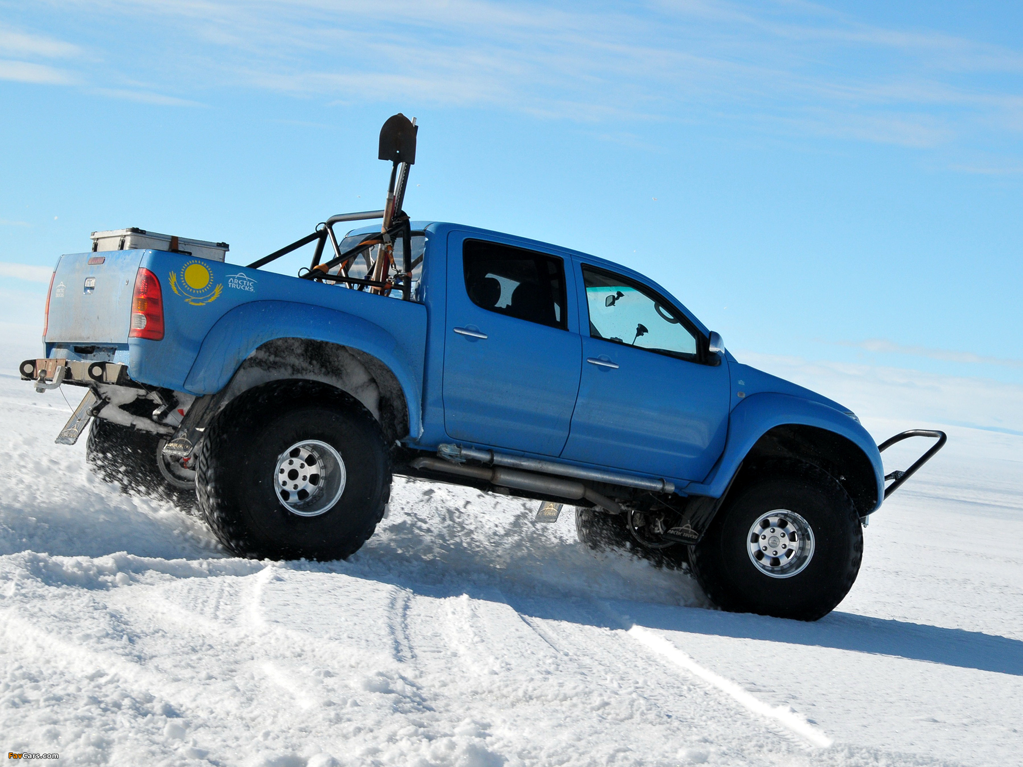 Arctic Trucks Toyota Hilux At44 2007 Wallpapers 2048x1536