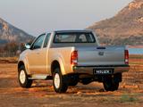 Toyota Hilux Xtra Cab ZA-spec 2008–11 images
