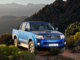 Toyota Hilux Double Cab ZA-spec 2008–11 photos
