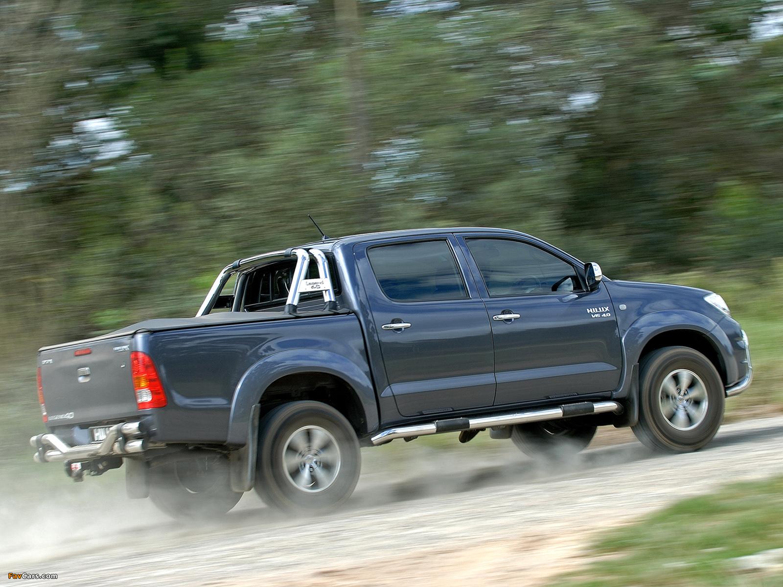 Toyota Hilux Legend 40 Double Cab 2010 Images 1600x1200
