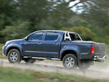 Toyota Hilux Legend 40 Double Cab 2010 wallpapers
