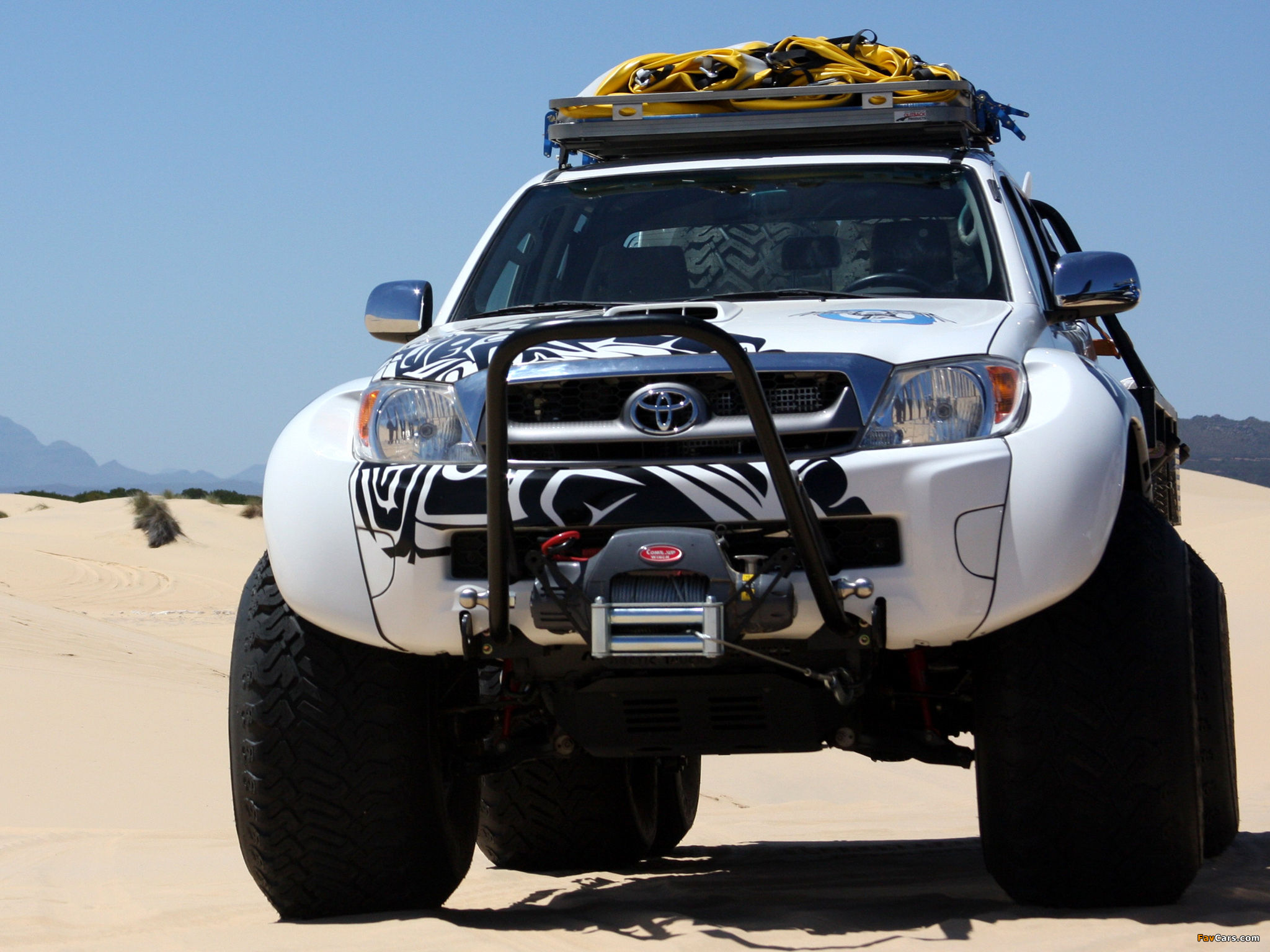 Arctic Trucks Toyota Hilux At44 6x6 2010 Wallpapers 2048x1536