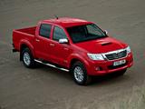 Toyota Hilux Double Cab UK-spec 2011 photos