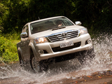 Toyota Hilux SRV Cabine Dupla 4x4 2012 images