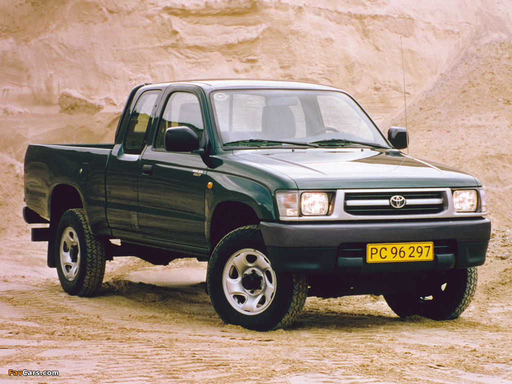 Toyota Hilux Xtra Cab 1997 2001 Wallpapers 1024x768