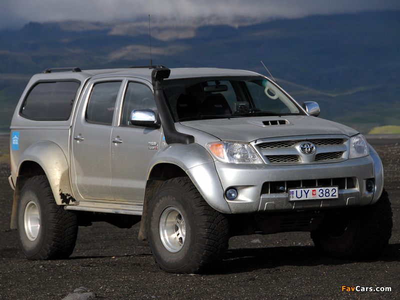 Arctic Trucks Toyota Hilux Double Cab At35 2007 Wallpapers