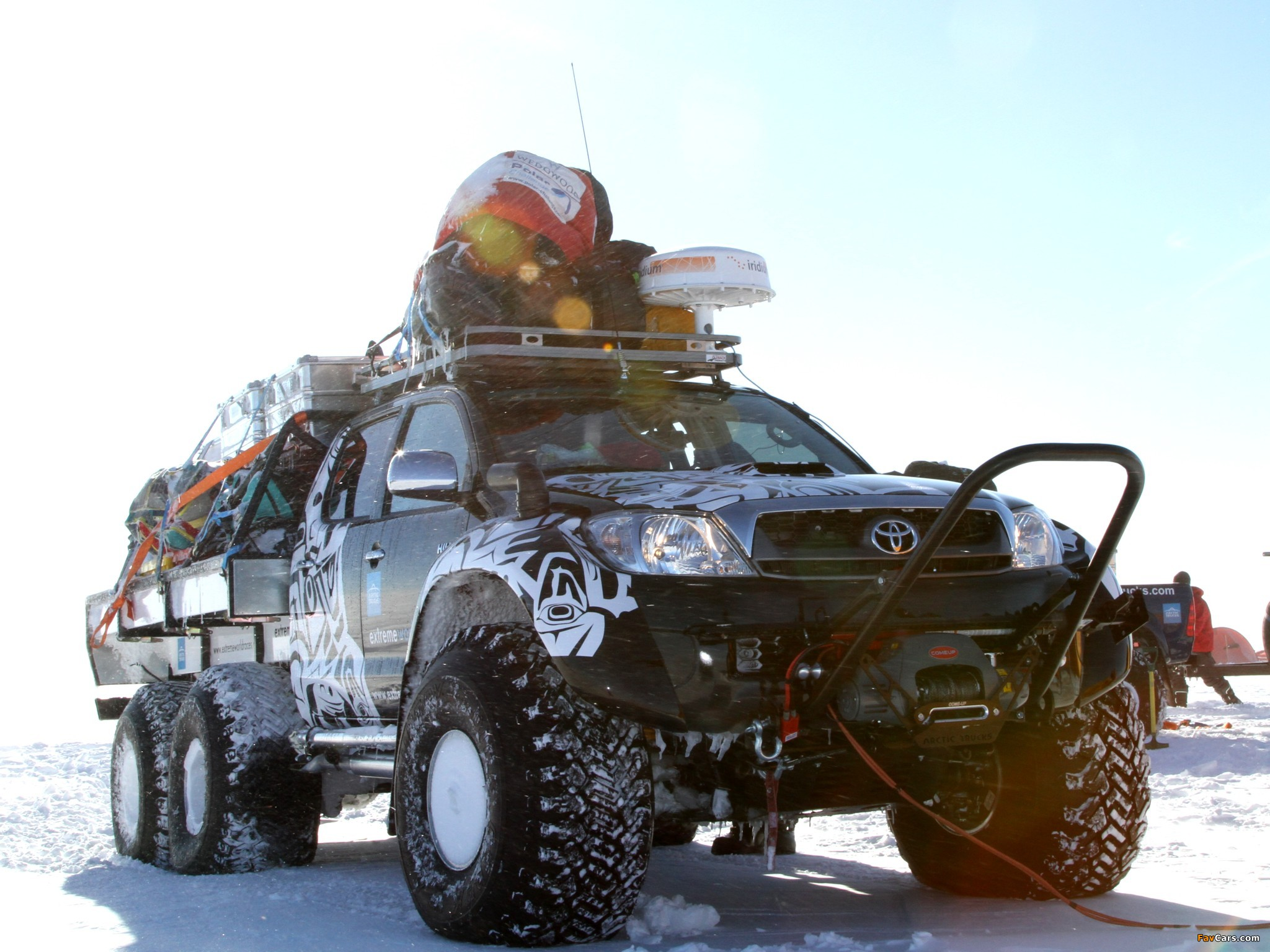 how to build an arctic truck