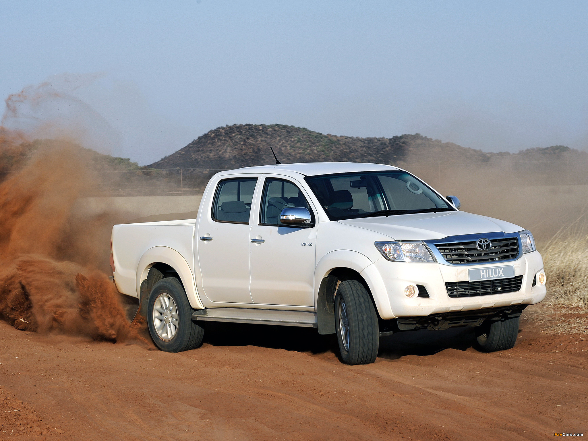 Toyota Hilux Double Cab Za Spec 2011 Wallpapers 2048x1536