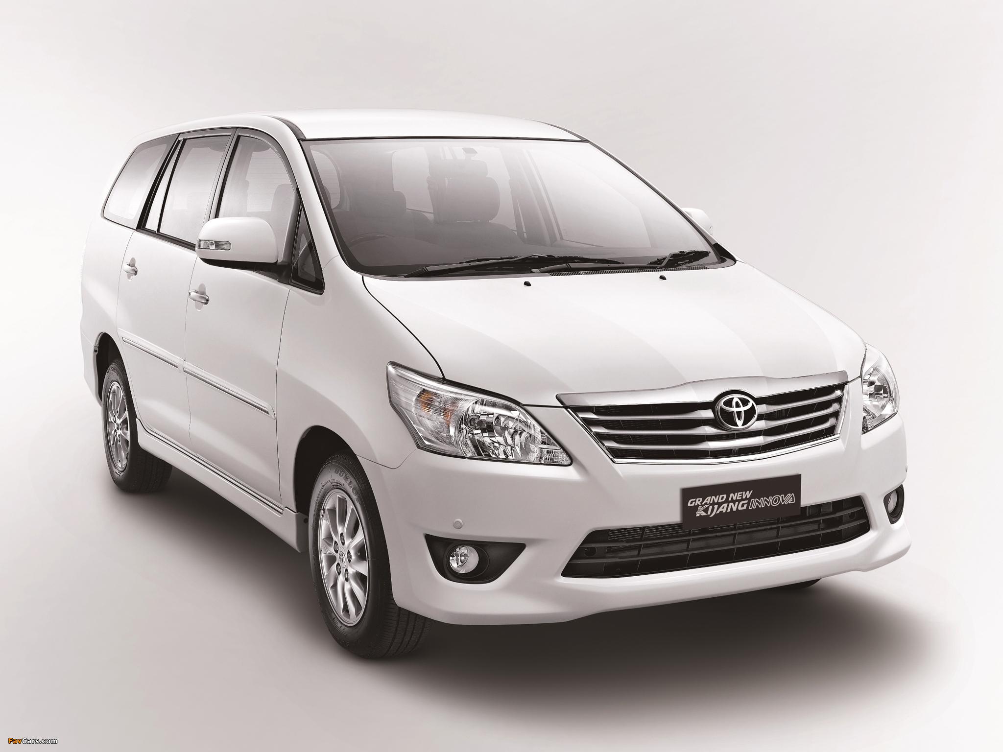 Toyota Grand New Kijang Innova 2011 Wallpapers 2048x1536