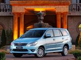 Toyota Innova ZA-spec 2011 wallpapers