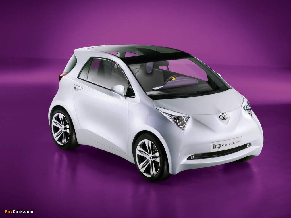 Toyota iQ Concept 2007 wallpapers (1024 x 768)