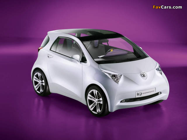 Toyota iQ Concept 2007 wallpapers (640 x 480)