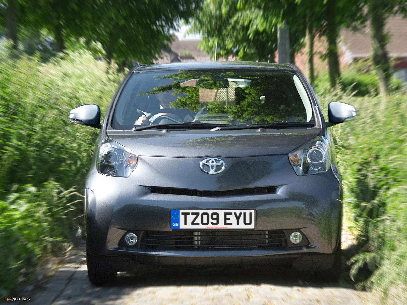 Toyota iQ UK-spec (KGJ10) 2009 images (1600 x 1200)