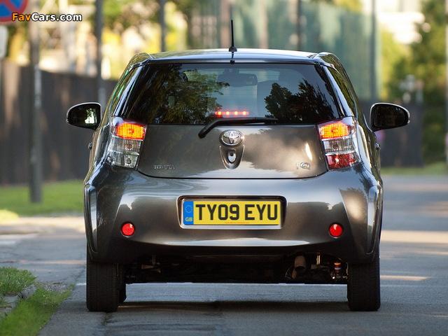 Toyota iQ UK-spec (KGJ10) 2009 photos (640 x 480)