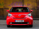 Toyota iQ UK-spec (KGJ10) 2009 photos