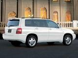 Images of Toyota Kluger V 2000–03