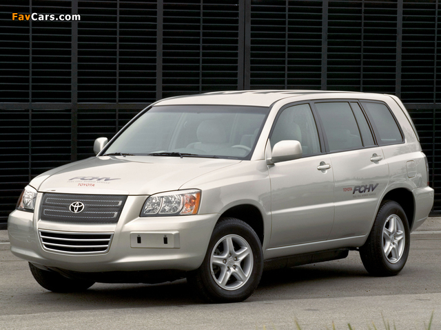 Images of Toyota FCHV-4 Concept 2001 (640 x 480)