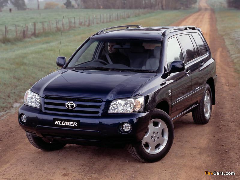 Images of Toyota Kluger AU-spec 2003–07 (800 x 600)