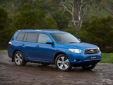 Images of Toyota Kluger 2007–10