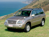 Photos of Toyota Kluger 2003–07