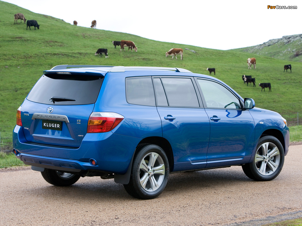 Photos of Toyota Kluger 2007–10 (1024 x 768)