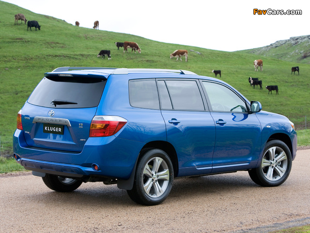 Photos of Toyota Kluger 2007–10 (640 x 480)