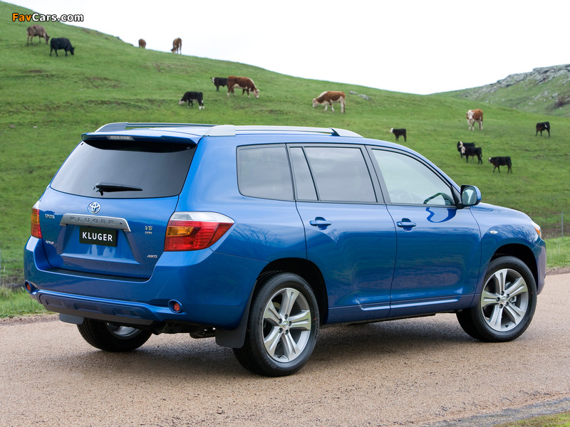 Photos of Toyota Kluger 2007–10 (800 x 600)