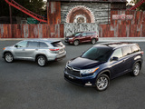 Photos of Toyota Kluger 2014