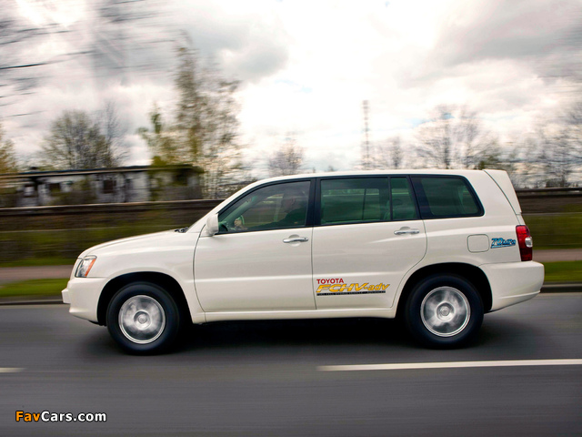 Pictures of Toyota FCHV Advanced 2007 (640 x 480)