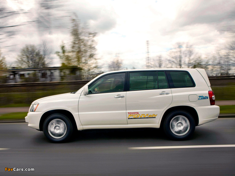 Pictures of Toyota FCHV Advanced 2007 (800 x 600)
