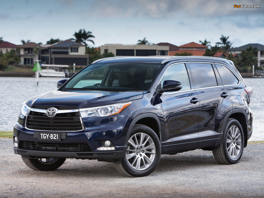 Pictures of Toyota Kluger 2014 (1024 x 768)