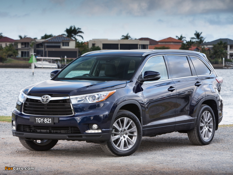 Pictures of Toyota Kluger 2014 (800 x 600)