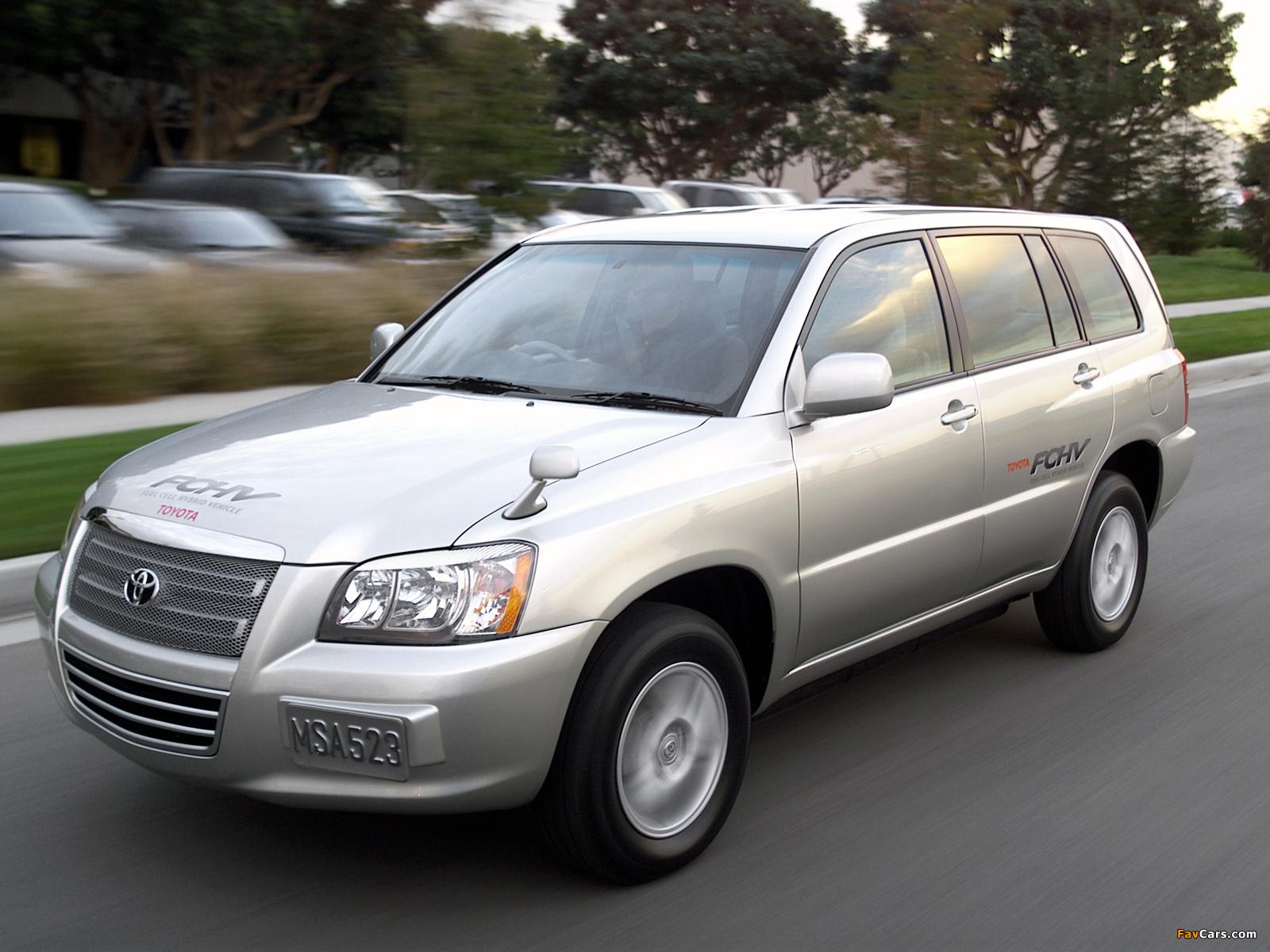 Toyota FCHV-4 Concept 2001 images (1600 x 1200)