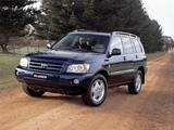Toyota Kluger AU-spec 2003–07 images