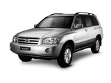 Toyota Kluger 2003–07 wallpapers