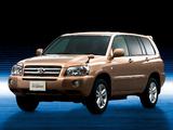 Toyota Kluger Hybrid 2005–07 photos