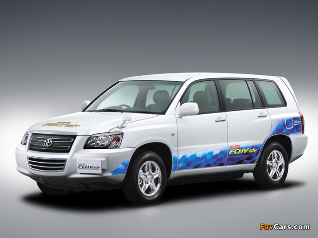 Toyota FCHV Advanced 2007 pictures (640 x 480)