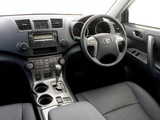 Toyota Kluger 2007–10 pictures