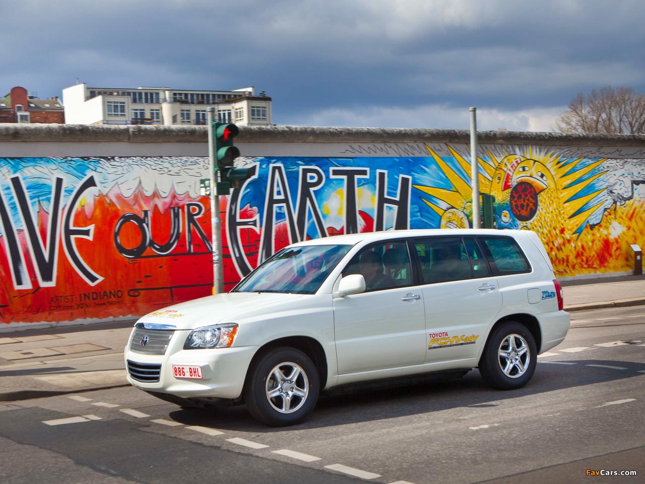 Toyota FCHV Advanced 2007 wallpapers (1280 x 960)