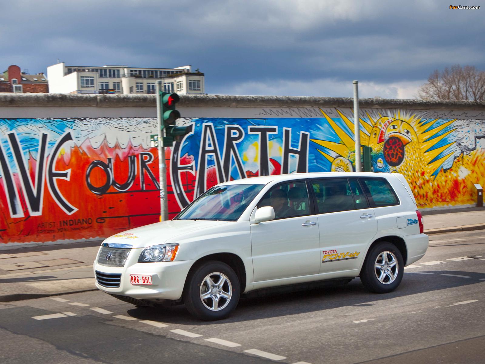Toyota FCHV Advanced 2007 wallpapers (1600 x 1200)
