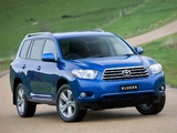 Toyota Kluger 2007–10 wallpapers