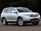 Toyota Kluger 2010 photos