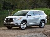 Toyota Kluger 2014 photos