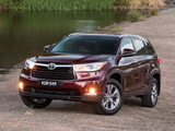 Toyota Kluger 2014 pictures