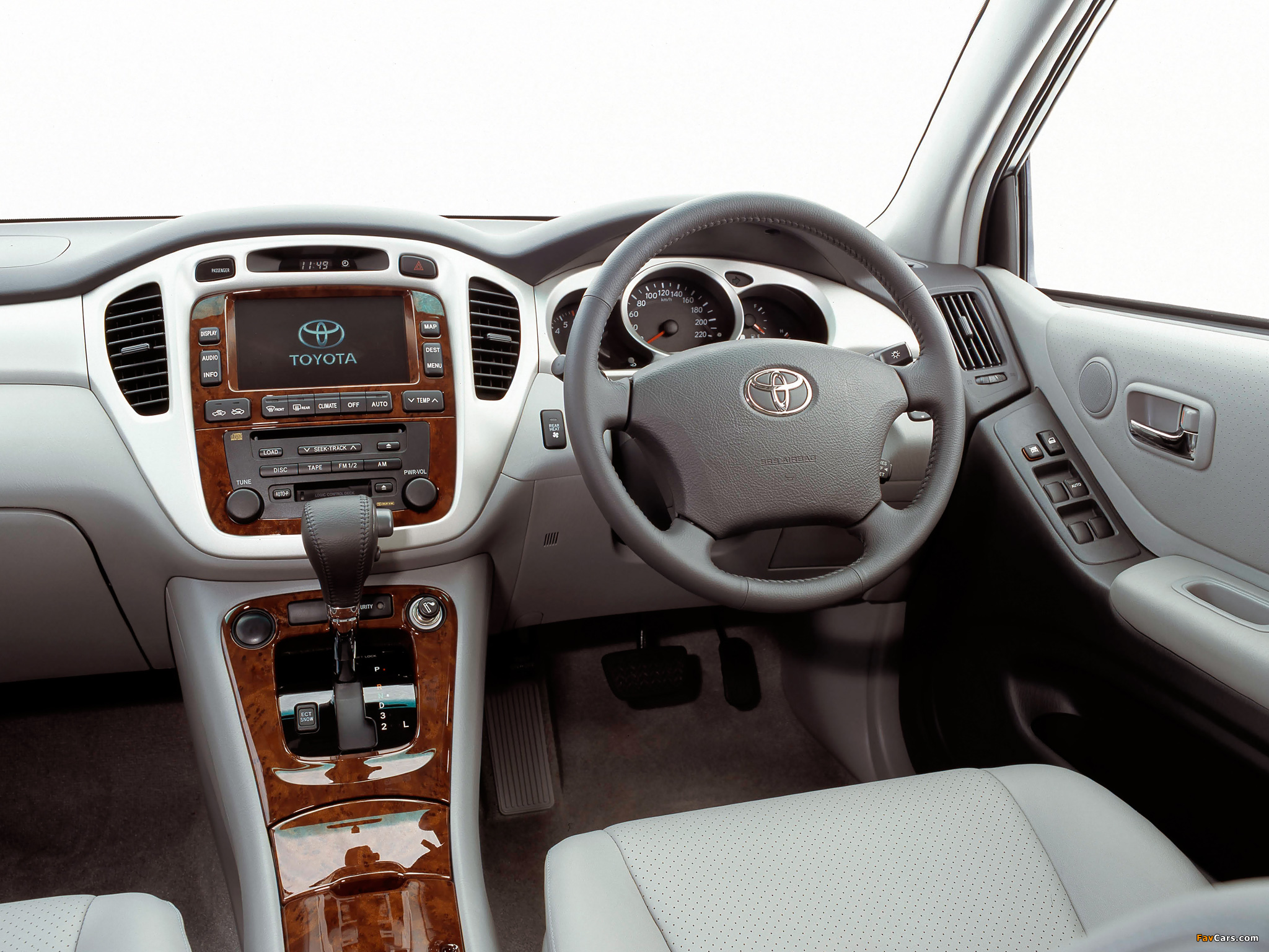 Toyota Kluger Au Spec 2003 07 Wallpapers 2048x1536
